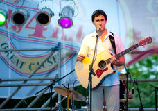Dave Carroll and the Sons of Maxwell perform. Stock Photos