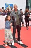 Dave Chappelle e sua filha na premier de uma estrela são nascidos no festival de cinema internacional 2018 de Toronto imagens de stock royalty free