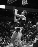 Dave Cowens. Boston Celtics center Dave Cowens, #18. (Image taken from B&W negative Stock Image