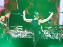 Dave Gahan και Gore του Martin Lee, τρόπος Depeche Στοκ εικόνα με δικαίωμα ελεύθερης χρήσης