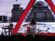 Dave Gahan, τρόπος Depeche Στοκ Εικόνες