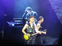 Dave Gahan and Martin Lee Gore, Depeche mode Royalty Free Stock Image