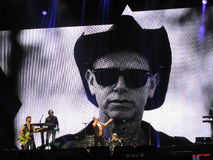 Dave Gahan and Martin Lee Gore, Depeche mode Stock Photography