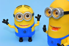 Dave and Kevin funny minions Royalty Free Stock Photos