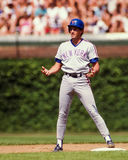 Dave Magadan New York Mets. Dave Magadan first baseman, New York Mets. (Image taken from color slide Royalty Free Stock Image