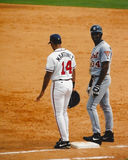 Dave Martinez and Juan Encarnacion Royalty Free Stock Image