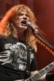 Dave Mustaine с Megadeth стоковые фото