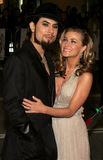 Dave Navarro and Carmen Electra Stock Images