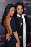 Dave Navarro,Leilani Dowding,Rolling Stones Royalty Free Stock Image