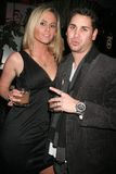 Dave Pearce. And guest  at the grand opening of Hadaka Sushi Restaurant And Lounge sponsored by Trump Vodka. Hadaka Sushi, West Hollywood, CA. 02-12-08 Stock Photos