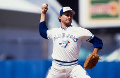 Dave Steib, Toronto Blue Jays Στοκ Φωτογραφία