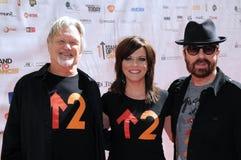 Dave Stewart,Kris Kristofferson,Martina McBride Royalty Free Stock Photo