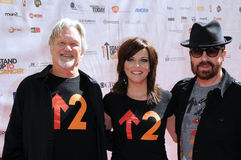 Dave Stewart,Kris Kristofferson,Martina McBride,The Stands Royalty Free Stock Photos