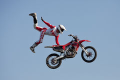 Dave Wiggins, freestyle motocross rider Stock Photo