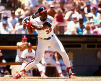 Dave Winfield, California Angels Royalty Free Stock Image
