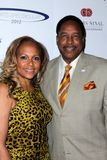 Dave Winfield and wife Tanya at the 27th Anniversary Of Sports Spectacular, Century Plaza, Century City, CA 05-20-12 Royalty Free Stock Photo