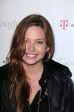 Daveigh Chase, Mr Brainwash,. Daveigh Chase  at Google And T-Mobile Celebrate The Launch Of Google Music, Mr. Brainwash Studios, Los Angeles, CA 11-16-11 Stock Photography
