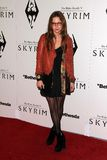 Daveigh Chase. At the 'Skyrim' Official Launch Party, Belasco Theater, Los Angeles, CA 11-08-11 Stock Photo
