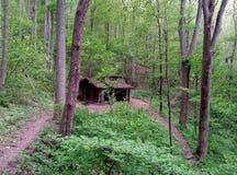 Davenport Gap Osłania--Appalachian ślad fotografia royalty free