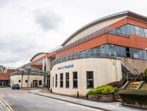 Daventry, UK στις 23 Μαρτίου 2018: Κτήριο νοσοκομείων Danetre άποψης ημέρας σε Daventry Στοκ φωτογραφία με δικαίωμα ελεύθερης χρήσης