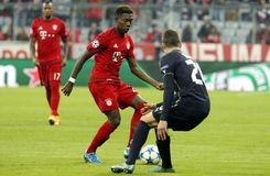 David Alaba Bayern Munich Royalty Free Stock Images