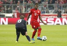 David Alaba Bayern Munich Stock Photography
