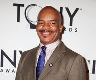 David Alan Grier. Comedic tv and stage actor David Alan Grier arrives for the 66th Annual Tony Awards Meet the Nominees Press Reception at the Millenium Broadway Royalty Free Stock Photos