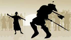 Free David And Goliath Royalty Free Stock Images - 33508029