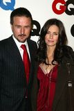 Courteney Cox,David Arquette Stock Image