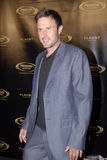 David Arquette on the red carpet. David Arquette appearing on the red carpet stock photos