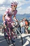 David Arroyo Giro d'Italia Plan de Corones. Giro d'Italia 2010 in Plan de Corones Royalty Free Stock Photography
