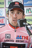 David Arroyo Press Conference Giro d'italia Stock Image