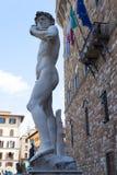 David av Michelangelo - Florence Arkivbilder