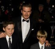 David Beckham imágenes de archivo libres de regalías