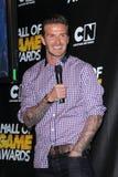 David Beckham fotos de stock royalty free