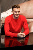 David Beckham Royalty-vrije Stock Fotografie