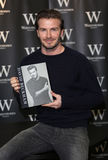 David Beckham. Launches his new book '' at Waterstones, London. 19/12/2013 Picture by: Henry Harris / Featureflash Royalty Free Stock Photo