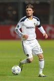 David Beckham bij voetbalgebied Stock Foto's