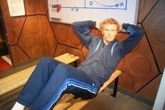 David Beckham Footballer immagini stock