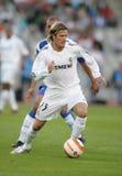 David Beckham nell'azione Fotografia Stock