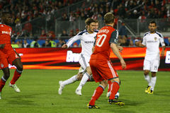 David Beckham TFC vs LA Galaxy MLS Soccer Stock Photo