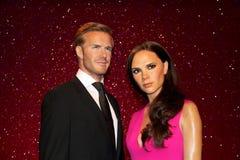 David Beckham und Victoria Beckham stockbilder