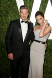 David Beckham, Victoria Beckham, Vanity Fair Photo libre de droits