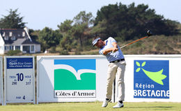David Bobrowski au défi 2013 de golf de Pleneuf Val Andre Image stock