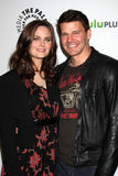 David Boreanaz, Emily Deschanel Royalty Free Stock Image