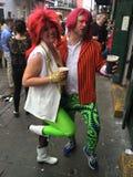 David Bowie Fans a New Orleans Immagine Stock Libera da Diritti