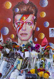 David Bowie Mural in Brixton Immagine Stock