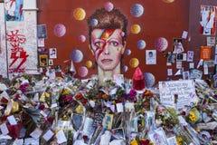 David Bowie Mural en Brixton Foto de archivo