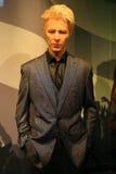 David Bowie-Wachsstatue Stockbild