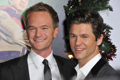 David Burtka, Neil Patrick Harris Foto de archivo